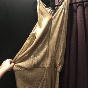 Laundry by shelli segal gold sequin dress